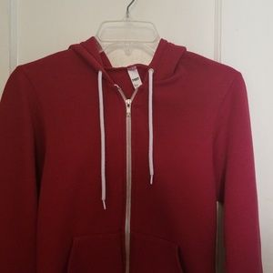 Red Classic American Apparel Hoodie